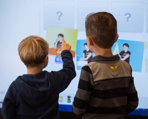 OBS de Dukdalf Dronten interactief leren