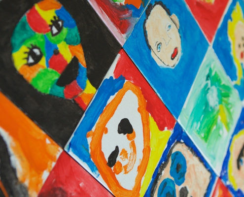 OBS de Dukdalf schilderen